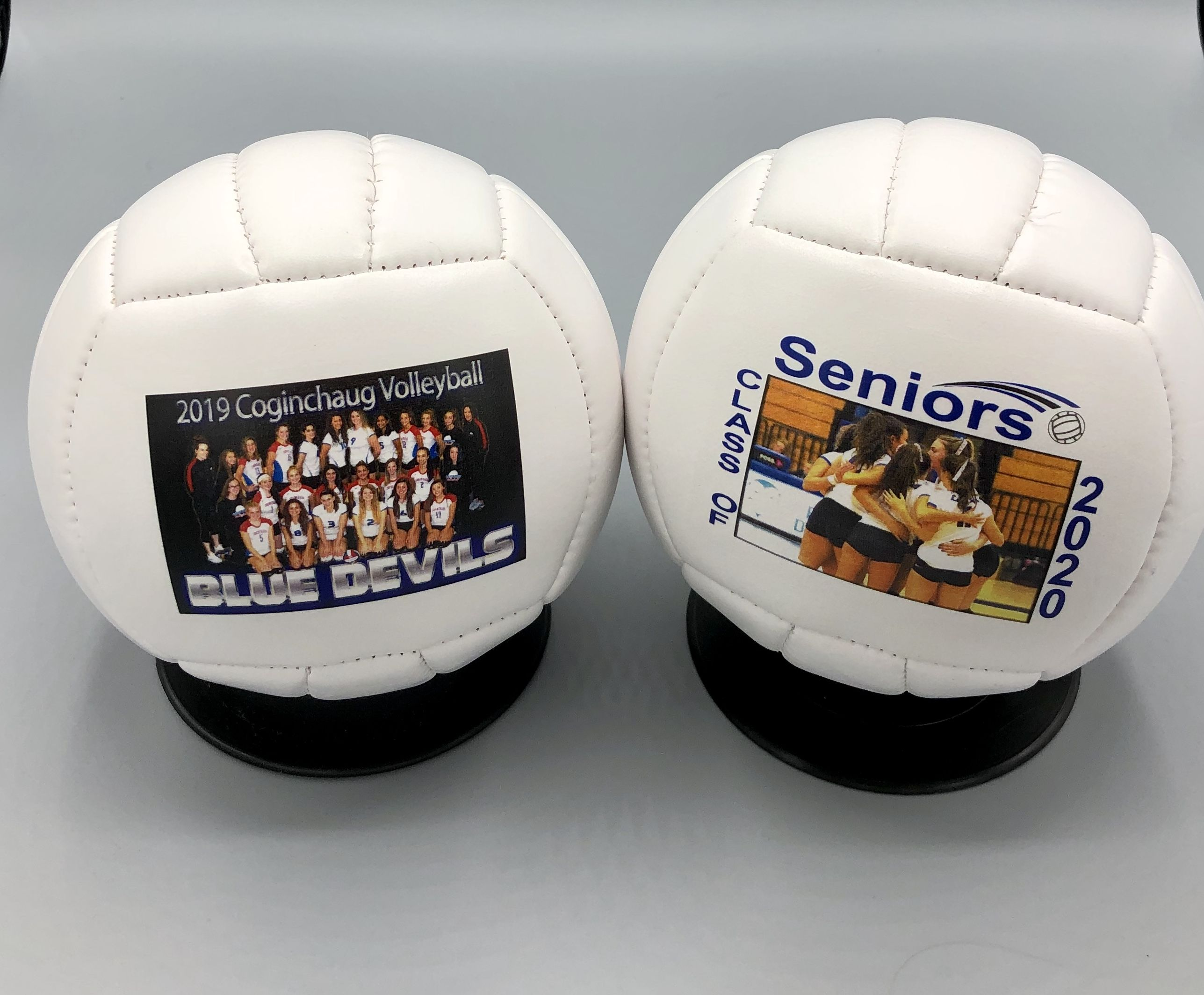 Cute Mini Volleyballs For The Seniors Seniorgift Volleyballgift Volleyball Volleyballcoachgift Volle Volleyball Gifts Sports Gifts Volleyball Coach Gifts
