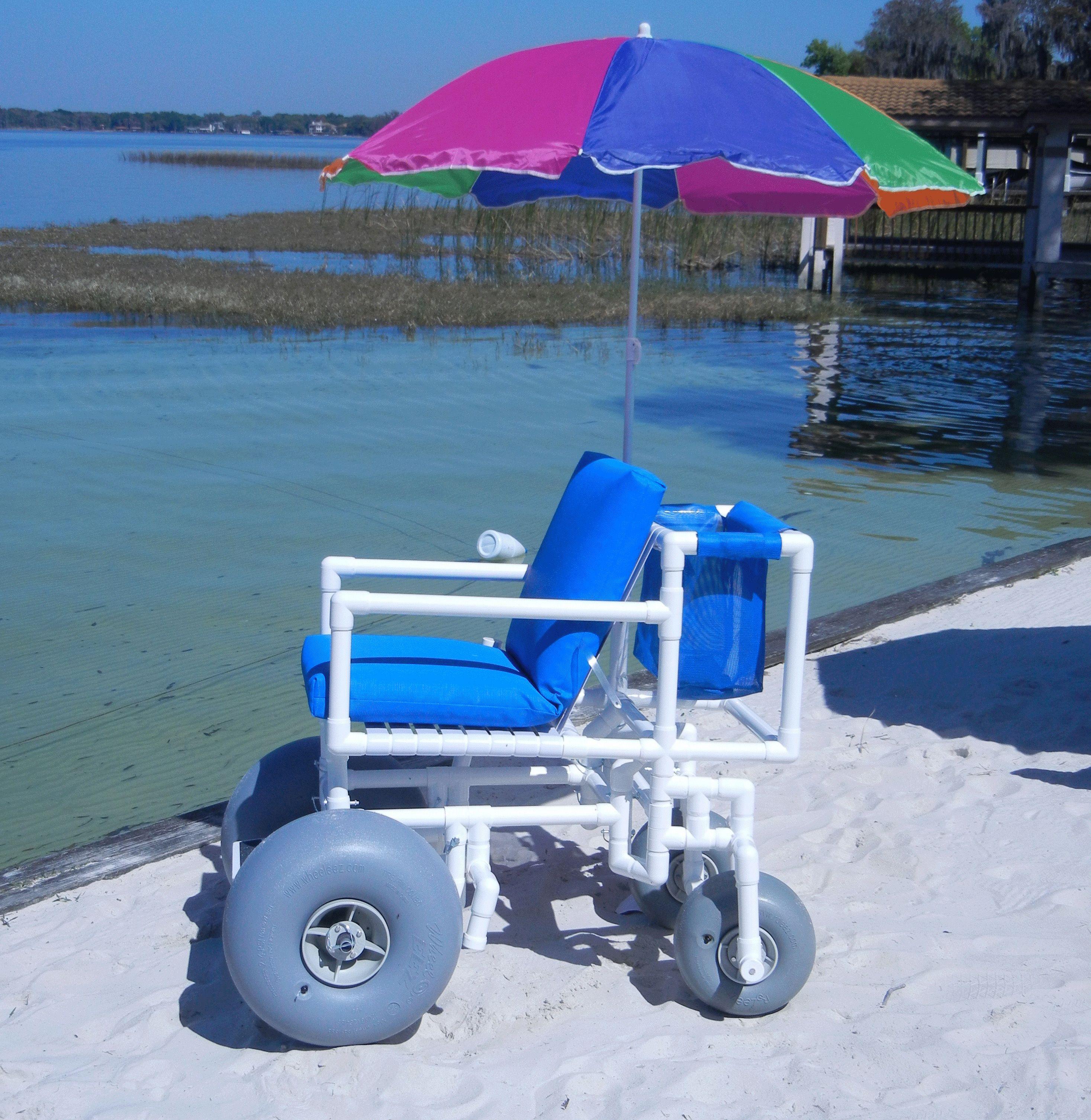 Beach Access Chair From Aqua Creek Products Cadeira De