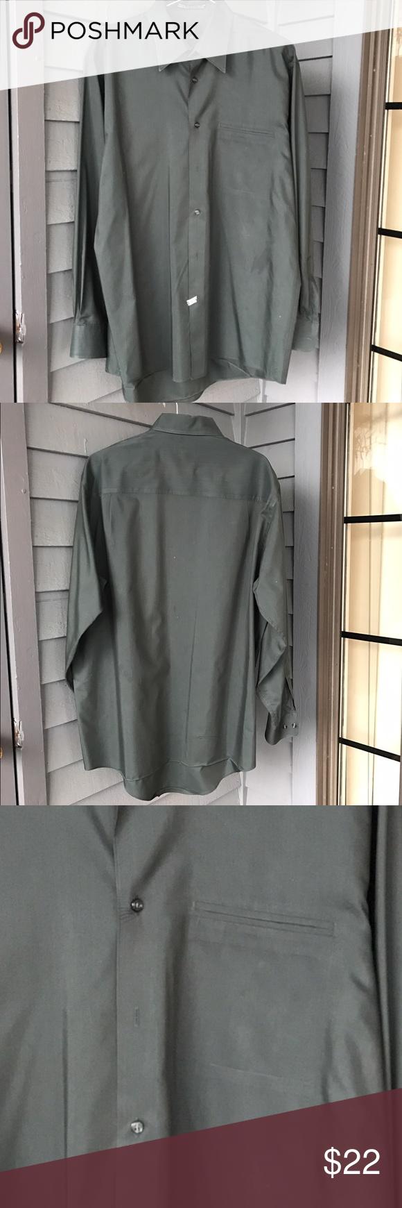 Dark green dress shirt  Menus dark green dress shirt