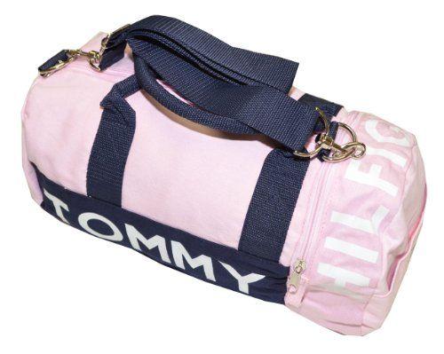 Tommy Hilfiger Mini Logo Duffle Bag Pink