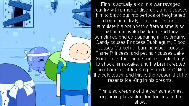 Adventure Time Theory My Nerdy Side Adventure Time
