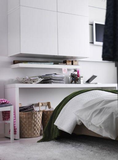 Ikea-Katalog 2012 - Ideen für kleine Wohnungen Mehr Stauraum im - ideen fr kleine schlafzimmer ikea