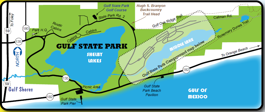 Gulf State Park Campground Map RV.Open Roads Forum: RV Parks, Campgrounds and Attractions  Gulf State Park Campground Map