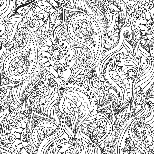 Peaceful Paisleys Adult Coloring Book 31 Stress Relieving Designs Let Creativity Flow As You Immerse Yourself In A Meditative Medley Of Paisley