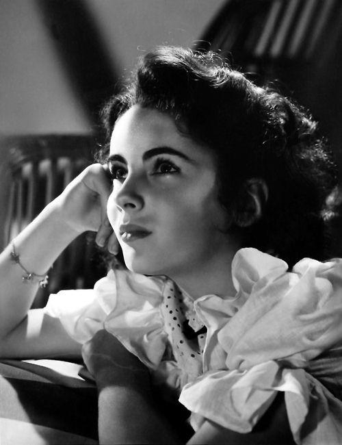 Elizabeth Taylor I've loved her forever! This is especially beautiful!