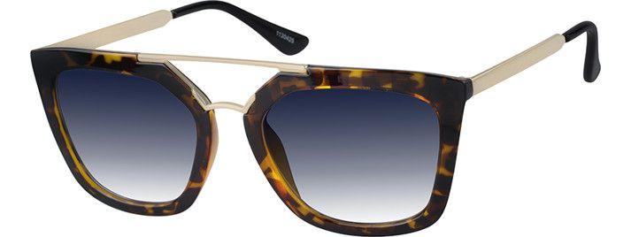 4548ee26365 Tortoiseshell Premium Aviator Sunglasses  1130425
