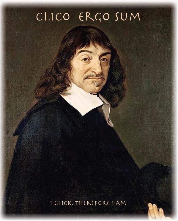 « Je pense donc je suis , Descartes | «Emerveillons-nous