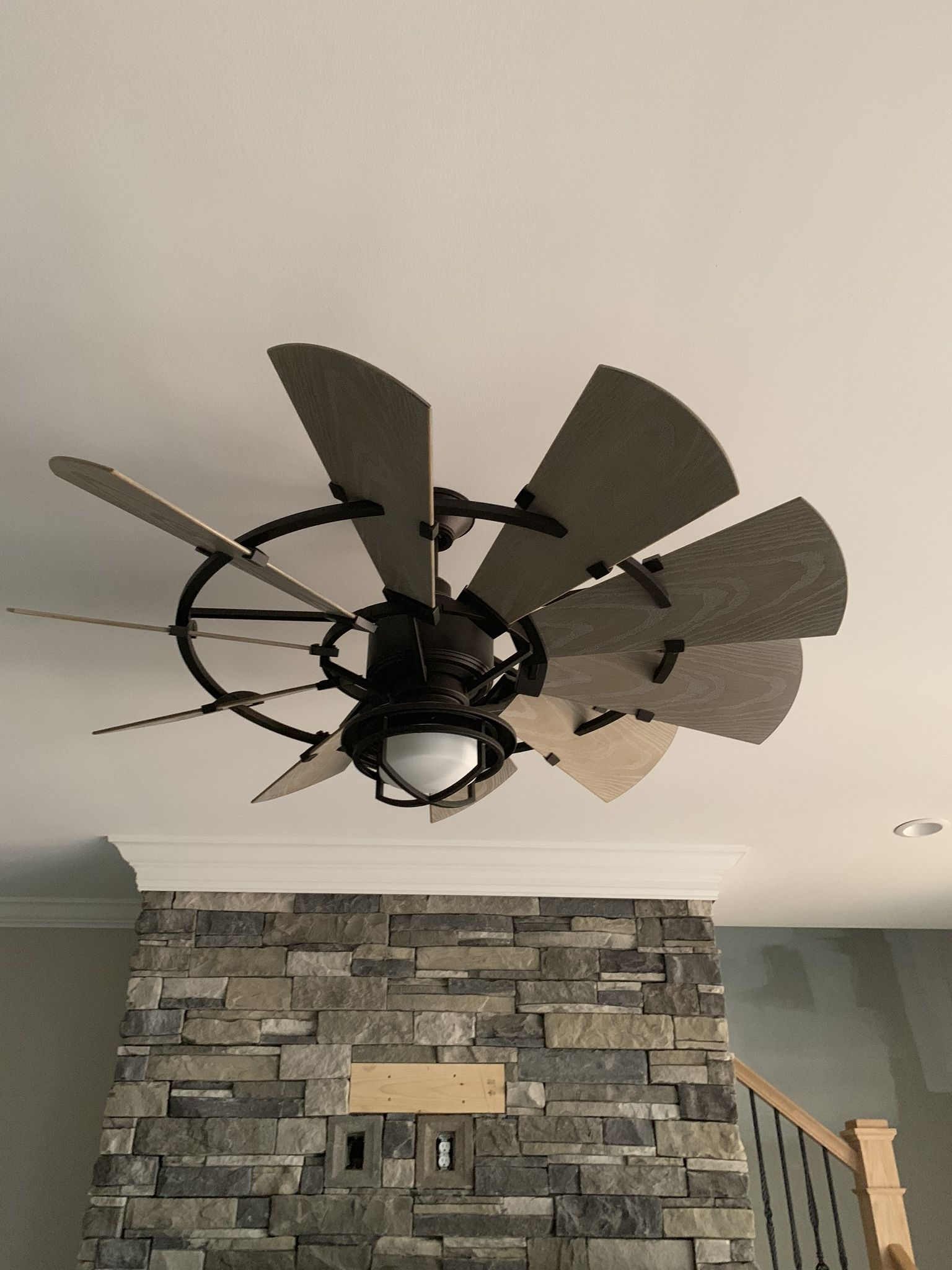 Mosscliff Plan 1338 Rendering To Reality Best Ceiling Fans Ceiling Fan Ceiling Fan With Light