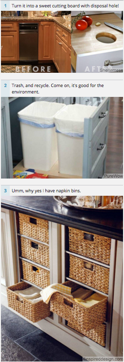 Flipped Out Friday Flashbackfriday Kitchen Cabinet Storage Trash Compactors Country Kitchen