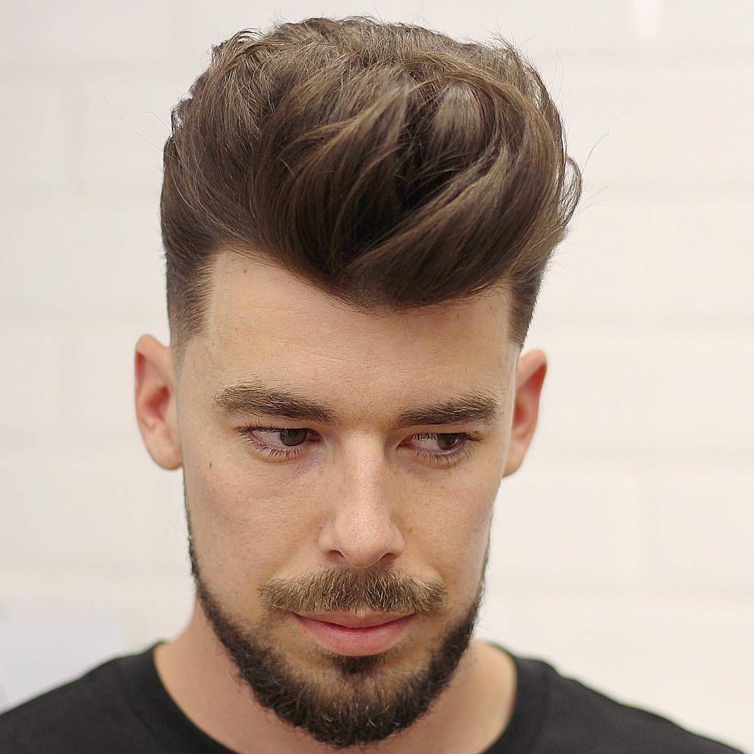 Elegant quiff mens hairstyles quiff medium length hair