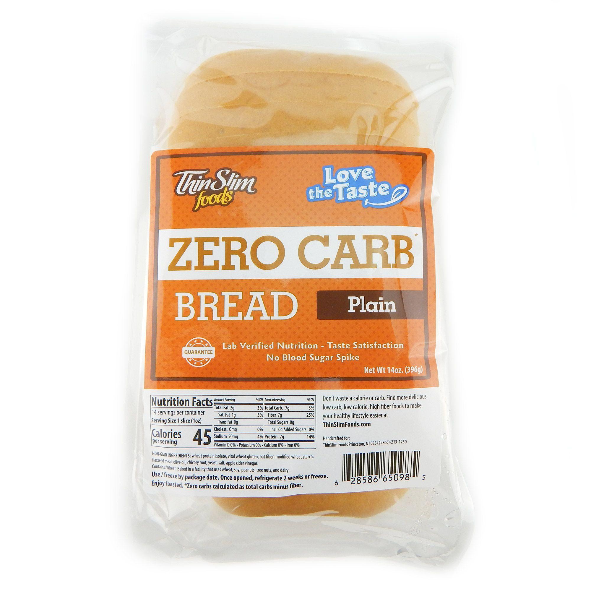 Love The Taste Bread Plain Low Carb Bread No Carb Diets Low Carb Recipes