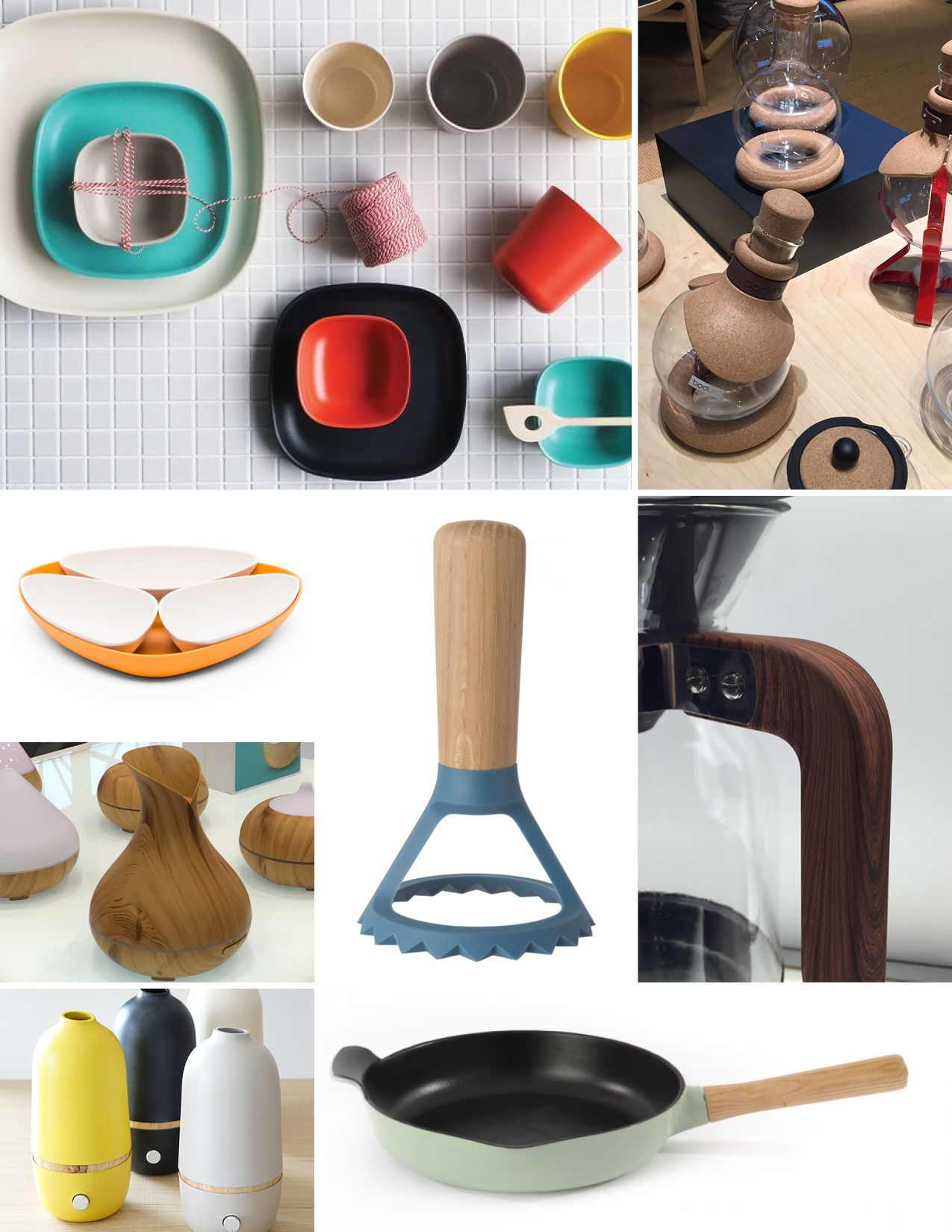 Housewares show 2017 trends natural and eco friendly materials