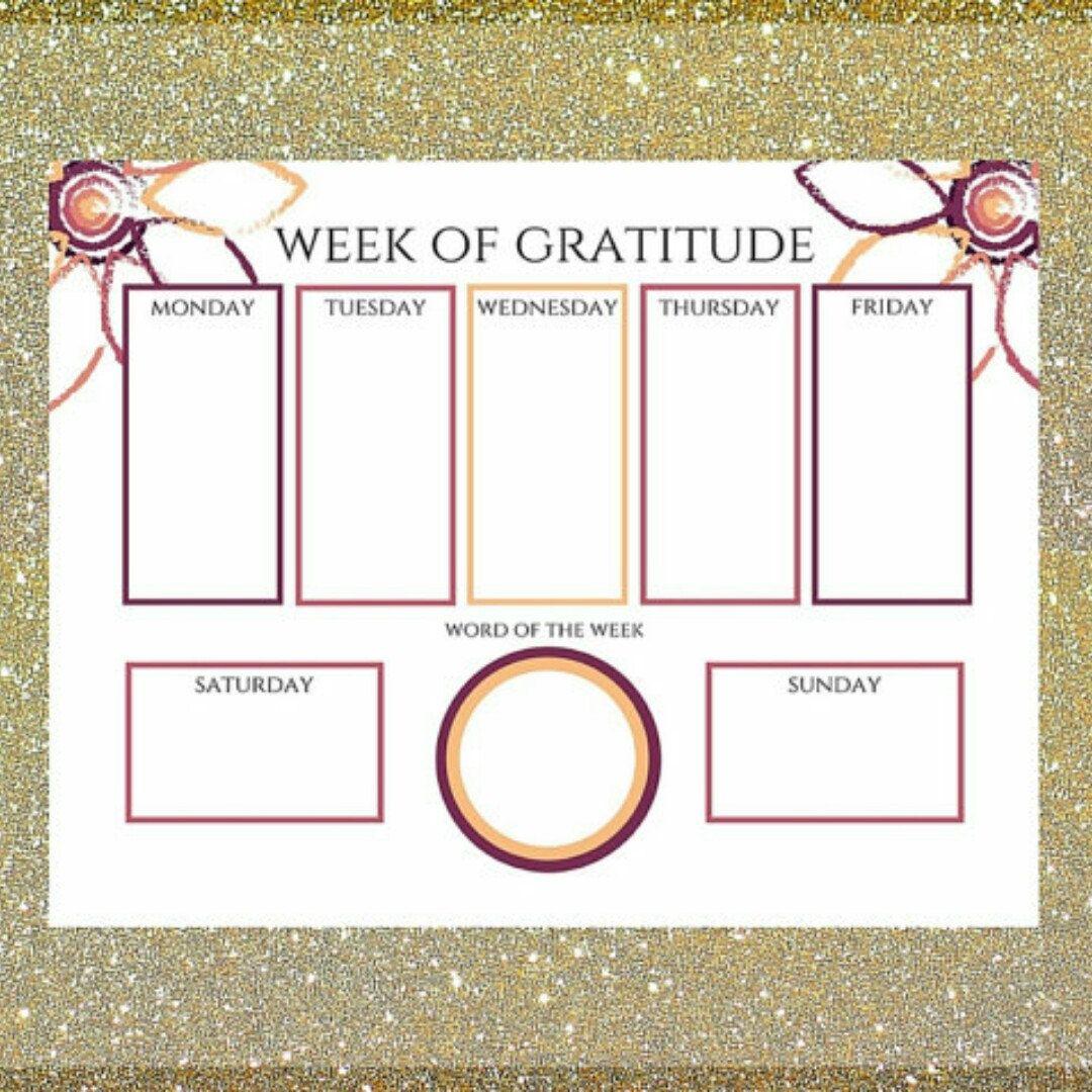 Week Of Gratitude Balanced Remnants Worksheets For
