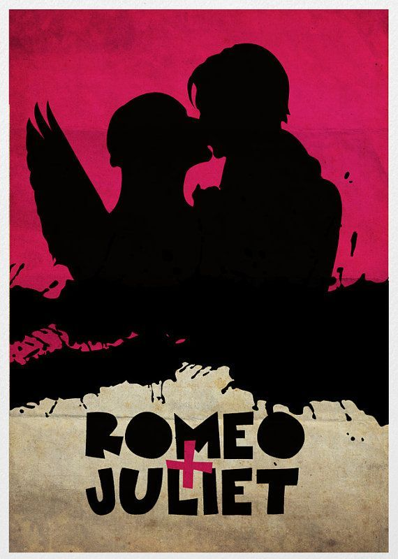 #R&Jedit Romeo + Juliet 1996 Lurhman, movie poster
