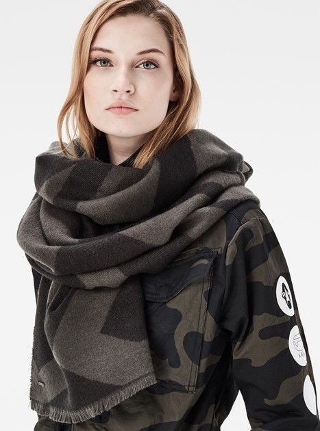 Dorala Scarf by G-Star Raw   scarves   Pinterest   Scarves, Star and ... 4b61a4bccfb