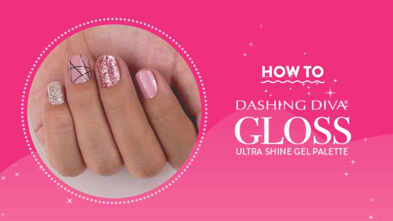 How To Dashing Diva Gloss Gel Strips In 2020 Gel Nails Simple Nails Nail Designs