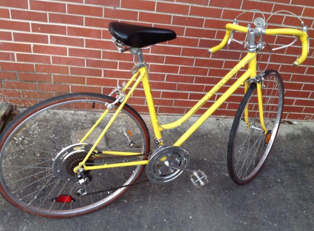 VINTAGE 1973 Schwinn Super Sport Kool Yellow Road bike