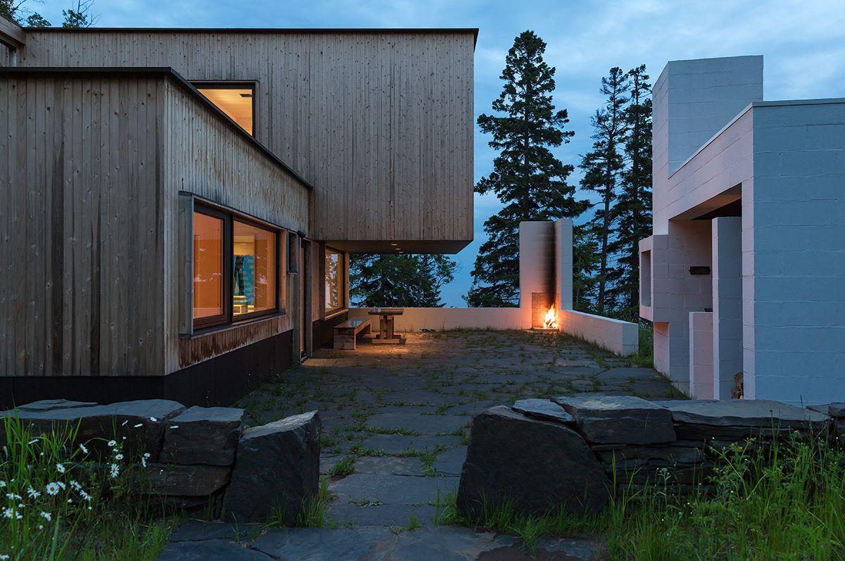 Larson Bergquist - Salmela Architect Detail: Window Bump Out