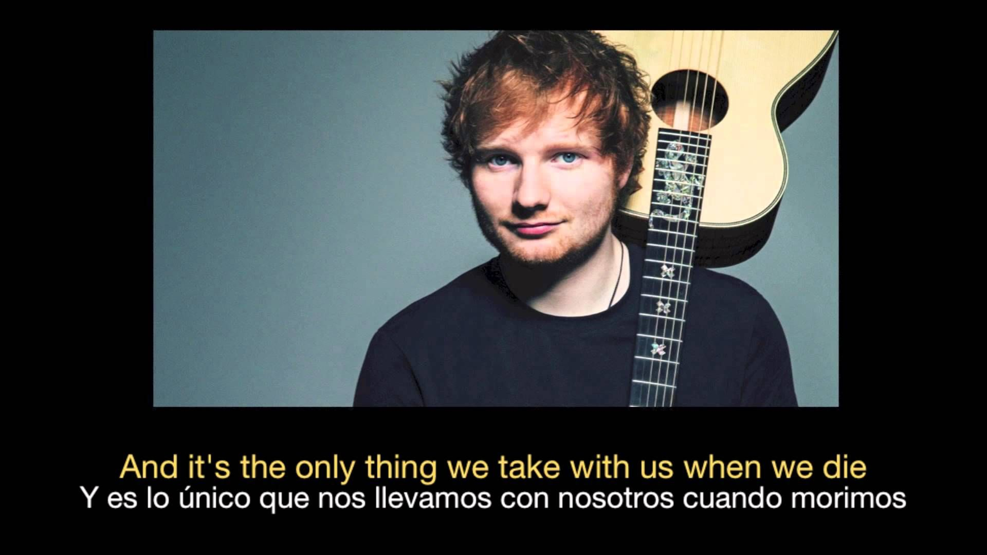 Ed Sheeran Photograph Hd Sub Español Ingles Ed Sheeran Photograph Lyrics Ed Sheeran Lyrics