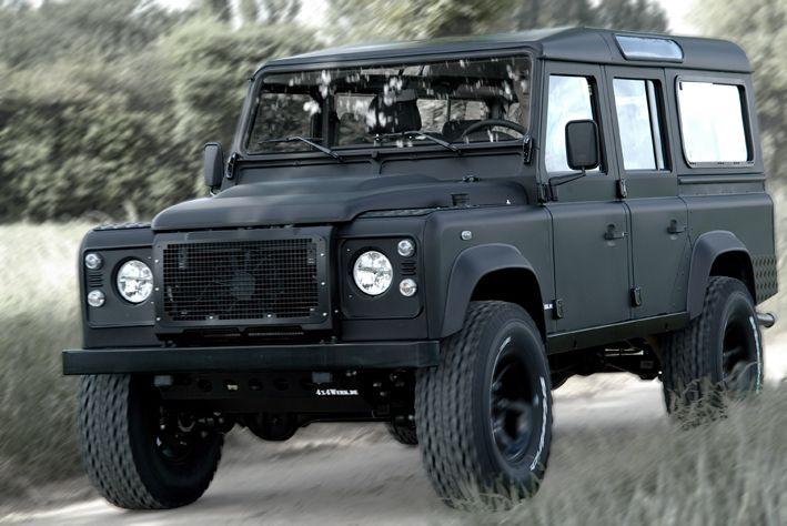 Matt Black Defender 110 Hard Top Google Search Land Rover
