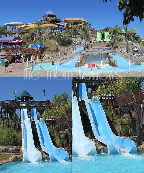 Raging Rapids Xtreme Inflatable Water Slide: Raging Waters In San Jose, CA -- Great Family Fun On A Hot