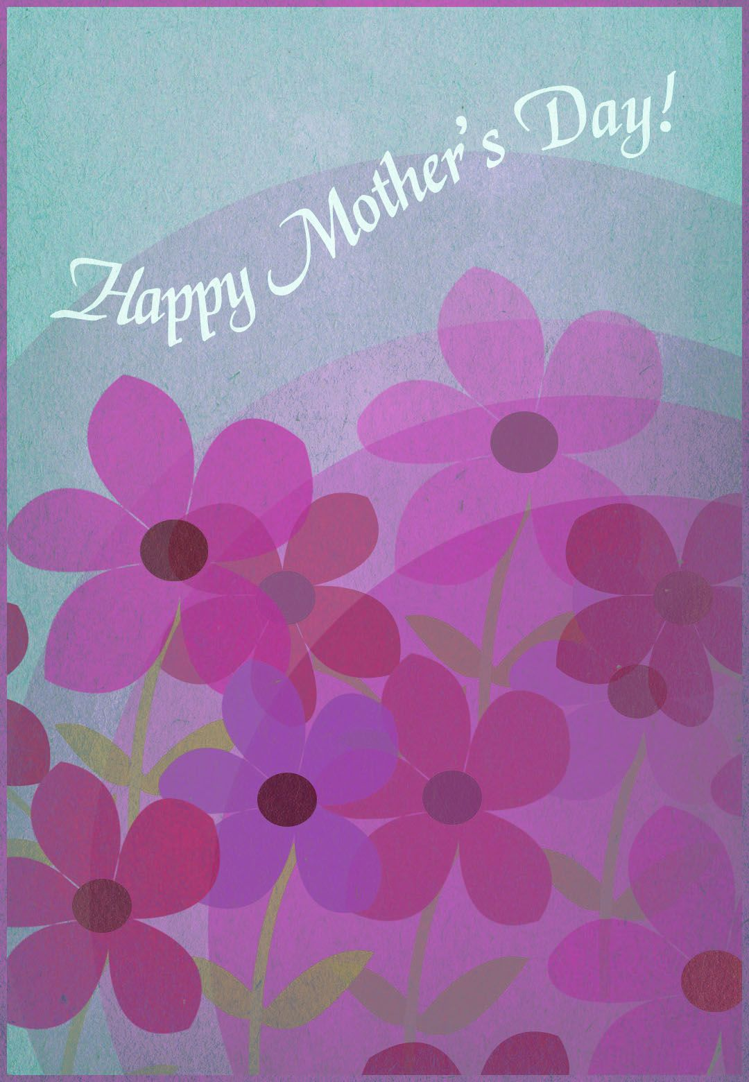 Free Printable Happy Mothers Day Greeting Card Mothersday Happy