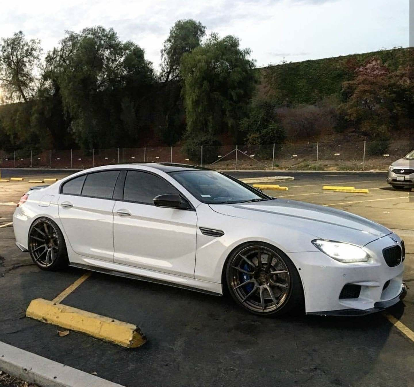Bmw F06 M6 Gran Coupe White With Images Bmw Bmw 6 Series
