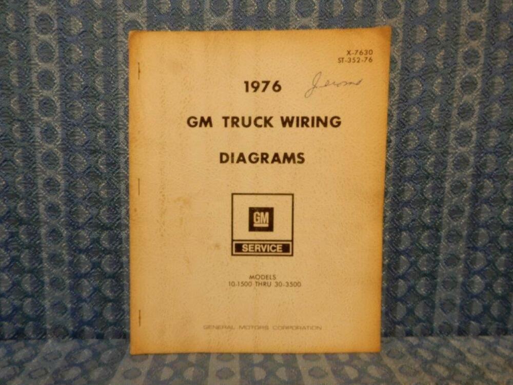 1976 Chevrolet  U0026 Gmc Truck  U00bd