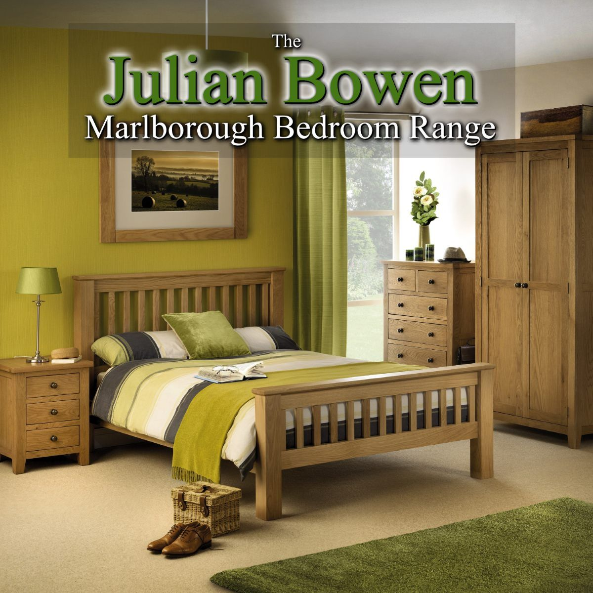 Julian Bowen Marlborough Bedroom Furniture Range from 8 Home