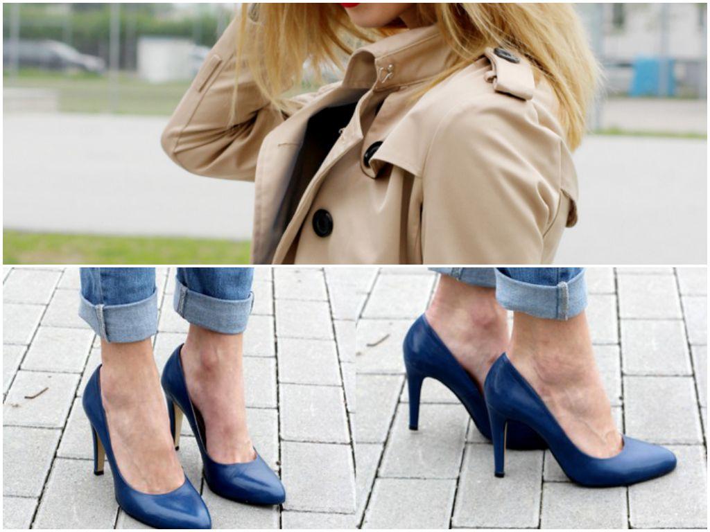 Najlepsze stylizacje blogerek - wiosna 2014,Paula Jagodzińska fot.beauty-fashion-shopping.blogspot.com, kolaż Elle.pl