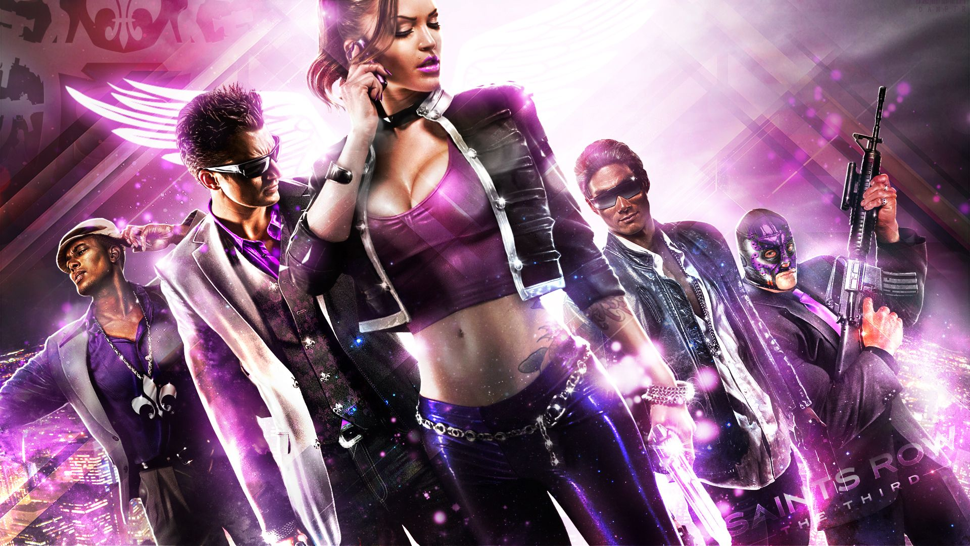 saints row 4 meet the president song to popular