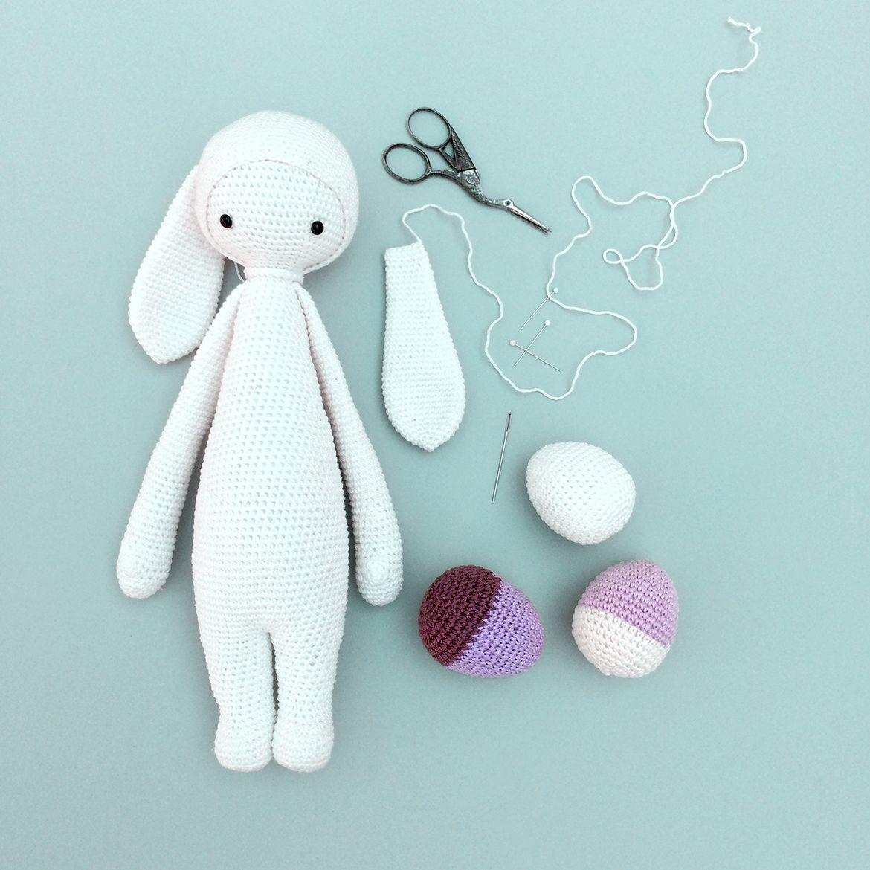 Pig Rabbit Amigurumi Patron : lalylala free bunny mod kit ?RITA the rabbit? for ...