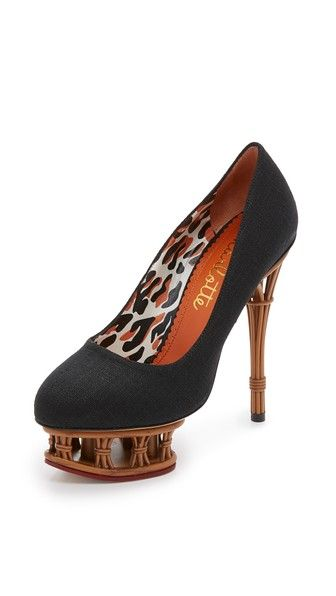 CHARLOTTE OLYMPIA Rattan Dolly Pumps.  charlotteolympia  shoes  pumps 04792af70