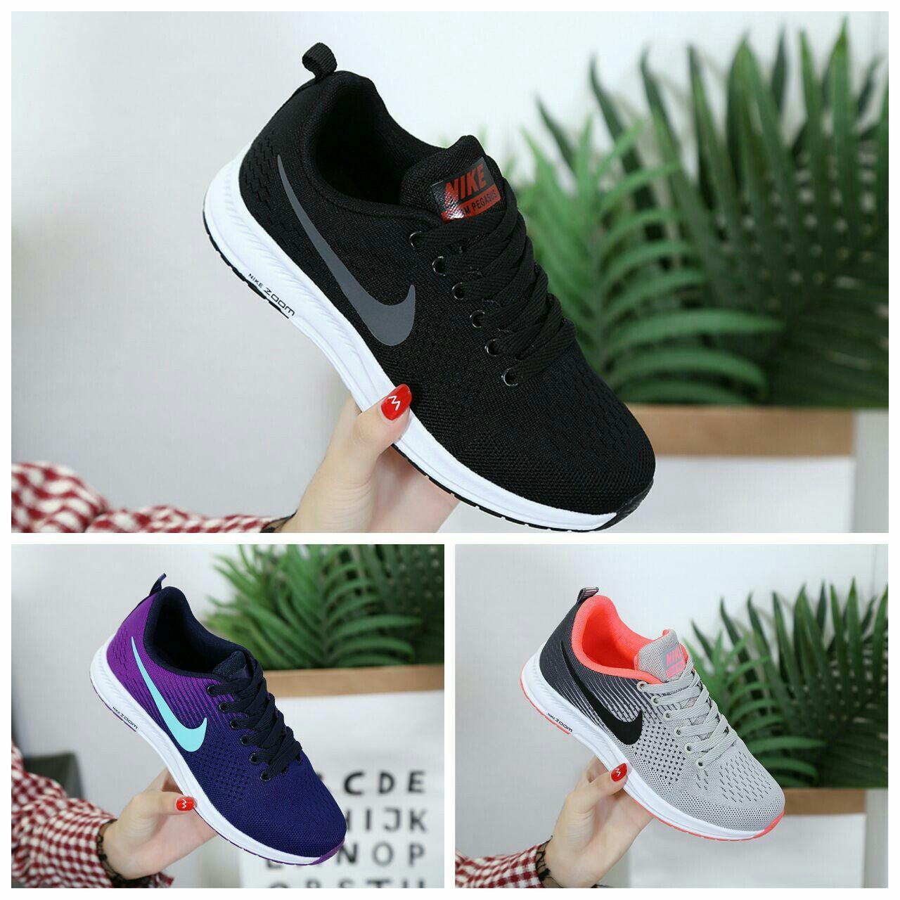 Sepatu Nike M294 A50 Semioriginal Heels 3 Cm Berat 6 Ons Ada 3 Warna Black Gray Blue Size Insole 36 23 Cm 3 Sepatu Sepatu Nike