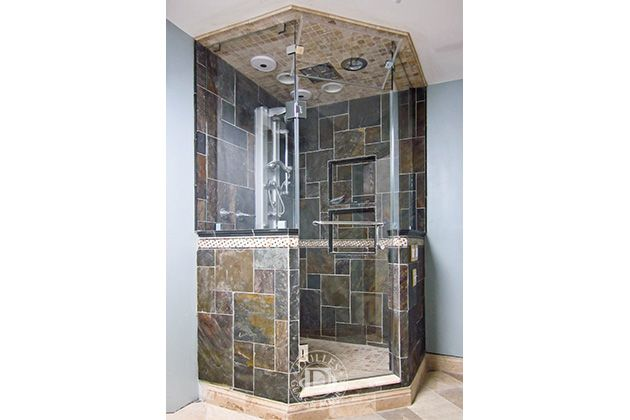 This Glass Shower Door Has Neo Angle Shower Steam Shower