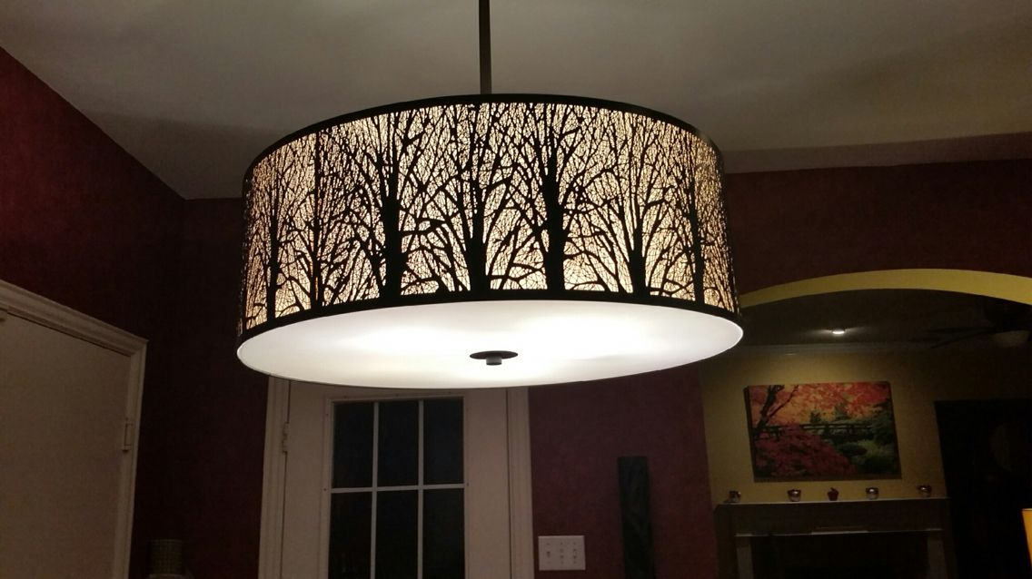Tree Chandelier Powder Room Pendant Lights Ceiling