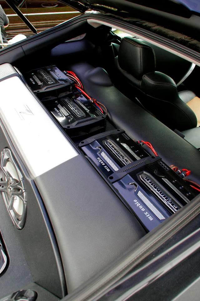 Amp Rack Full Of Jackhammer Series Amplifiers