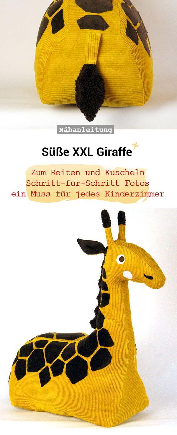 Photo of Kuscheltiergiraffe – Frau Scheiner