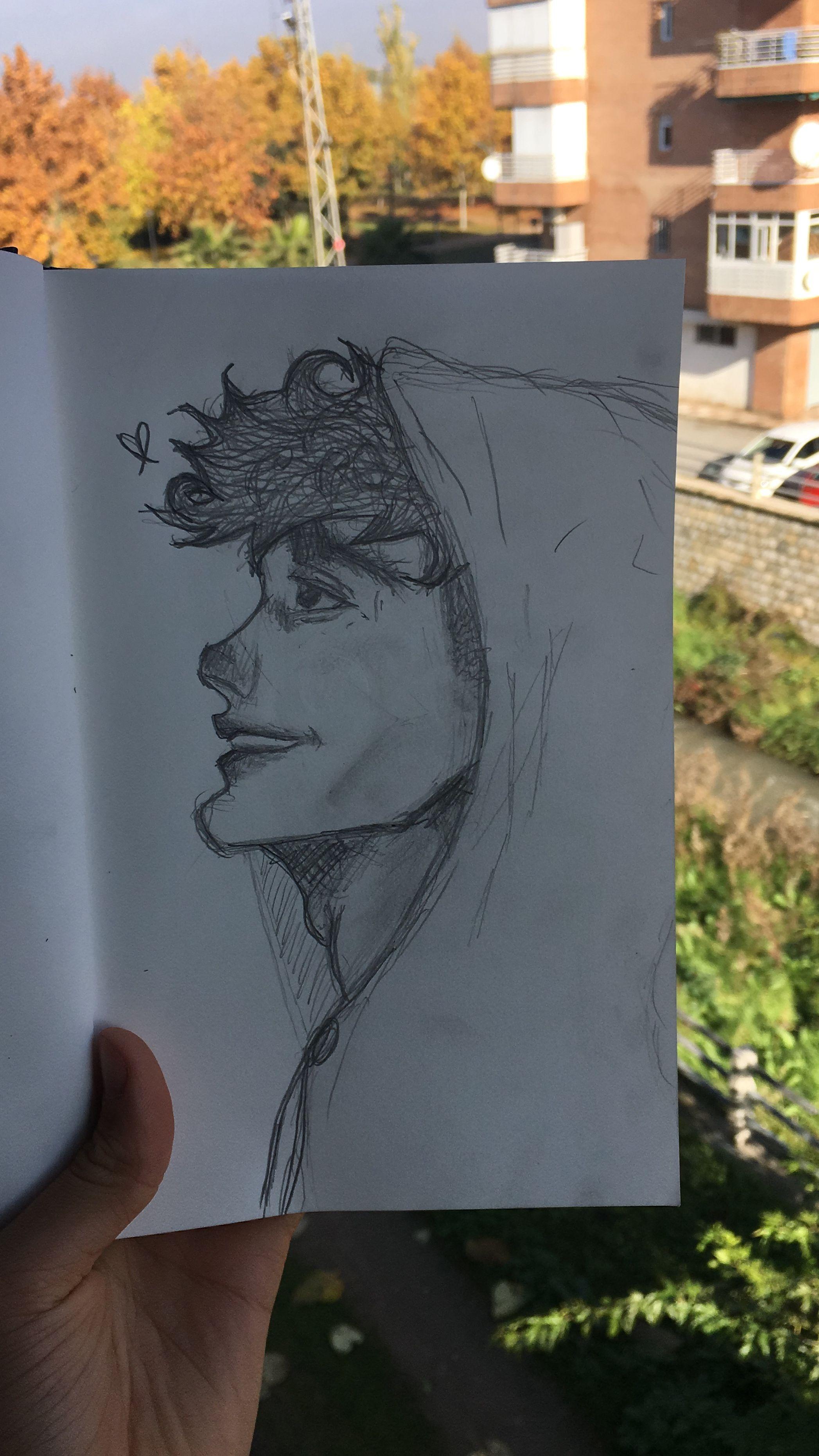 Dibujo a lapiz tumblr chico | Dibujos a lapiz tumblr, Dibujos de amor tumblr,  Dibujos