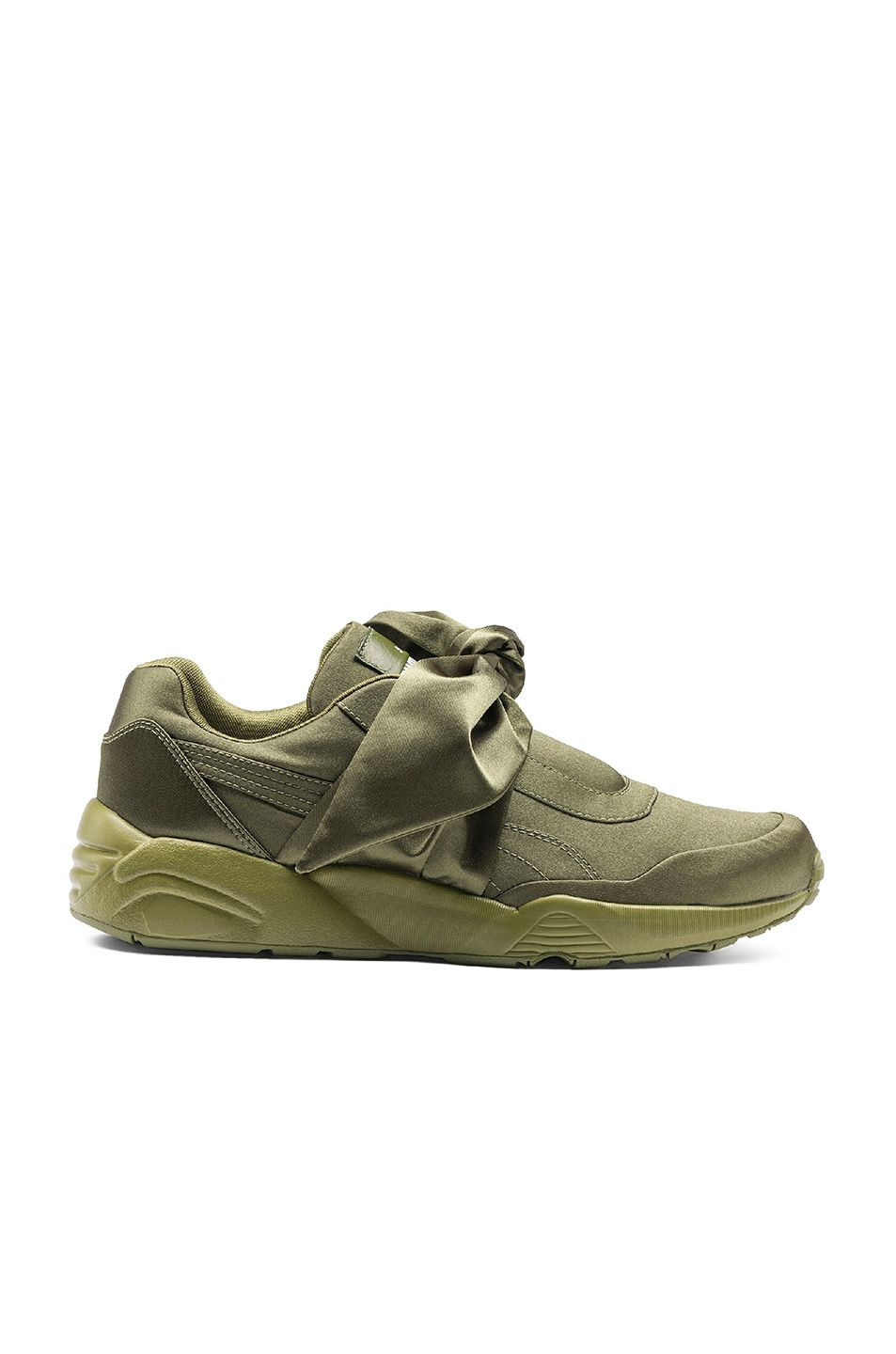 80c1a53c82b womens fenty puma by rihanna bow sneakers olive branch olive branch ...
