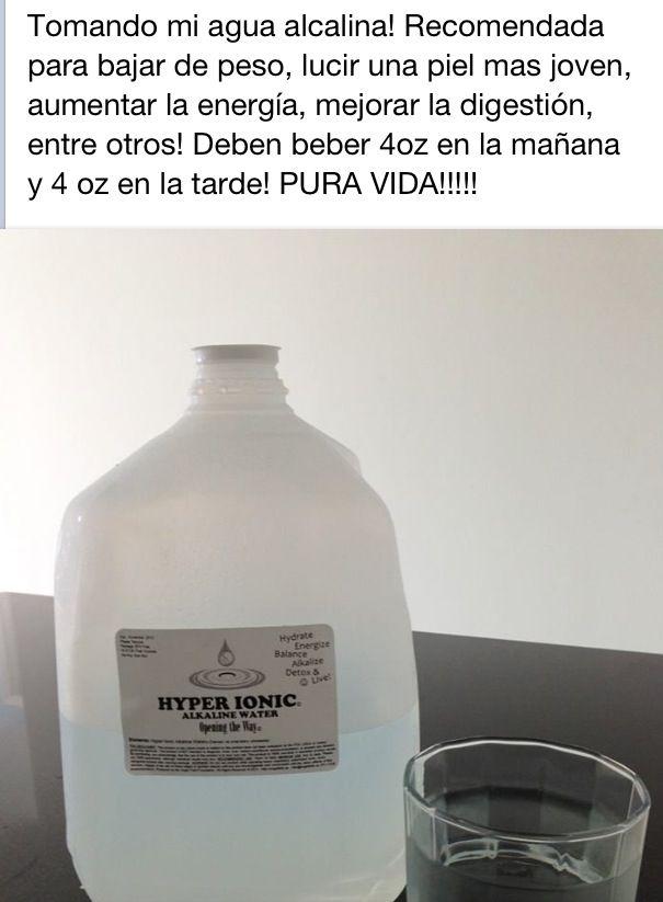 agua destilada para bajar de peso