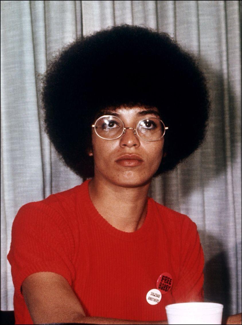 Angela Davis Black Panther Party Pinterest History