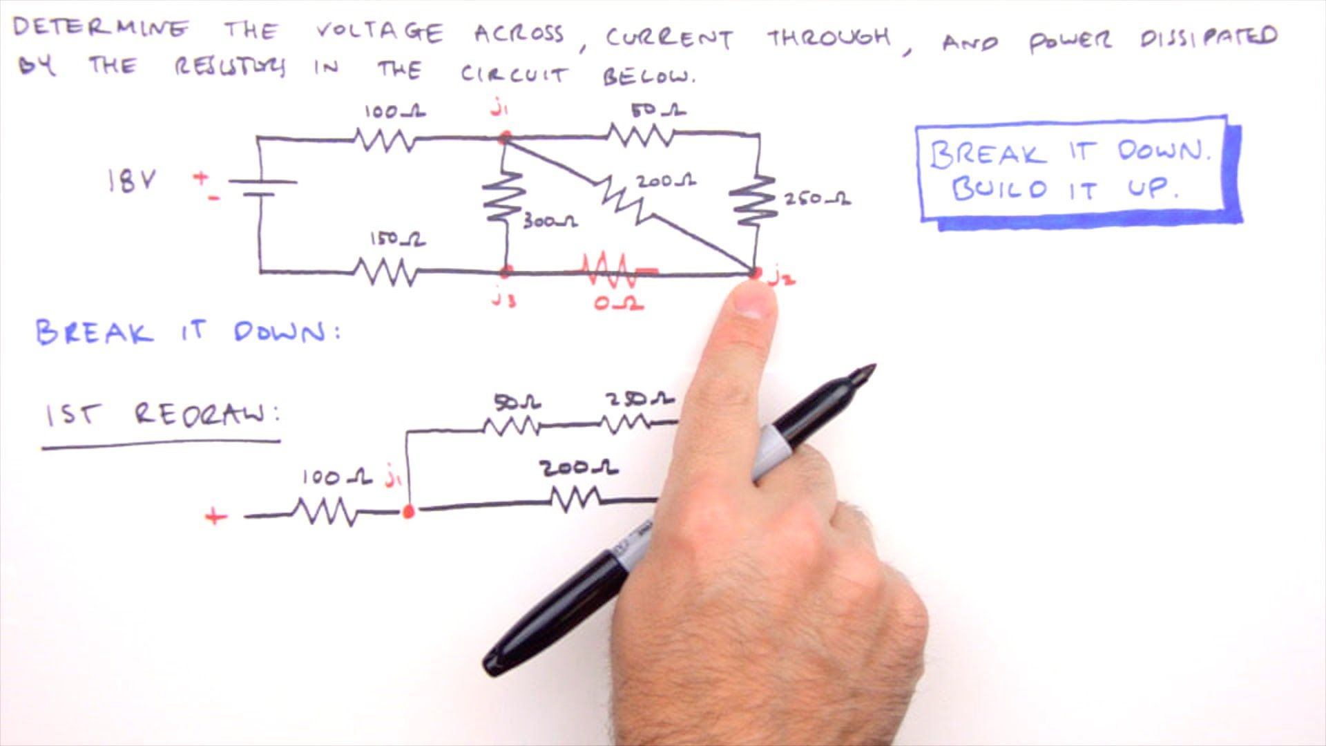 Series Parallel Circuit Examples How To Solve Any Series