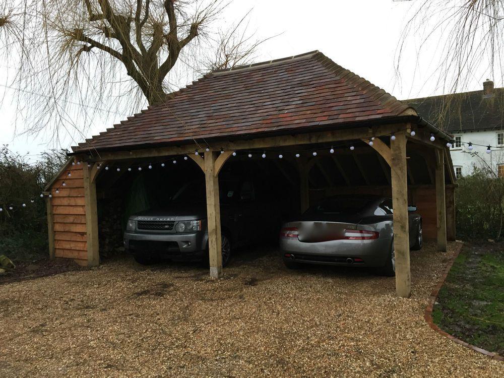 oak carport and garages Oak Carport, Garage eBay