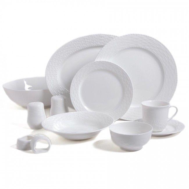 Gibson Home Sarasota 46 Piece Dinnerware Set White. Dinnerware Sets  sc 1 st  Pinterest & Gibson Home Sarasota 46 Piece Dinnerware Set White | 2016 Daily ...