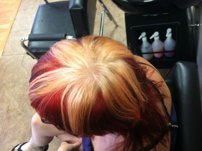 Red Star Hair from TOP **Awesome Hair Color and cut** | Red Star ...