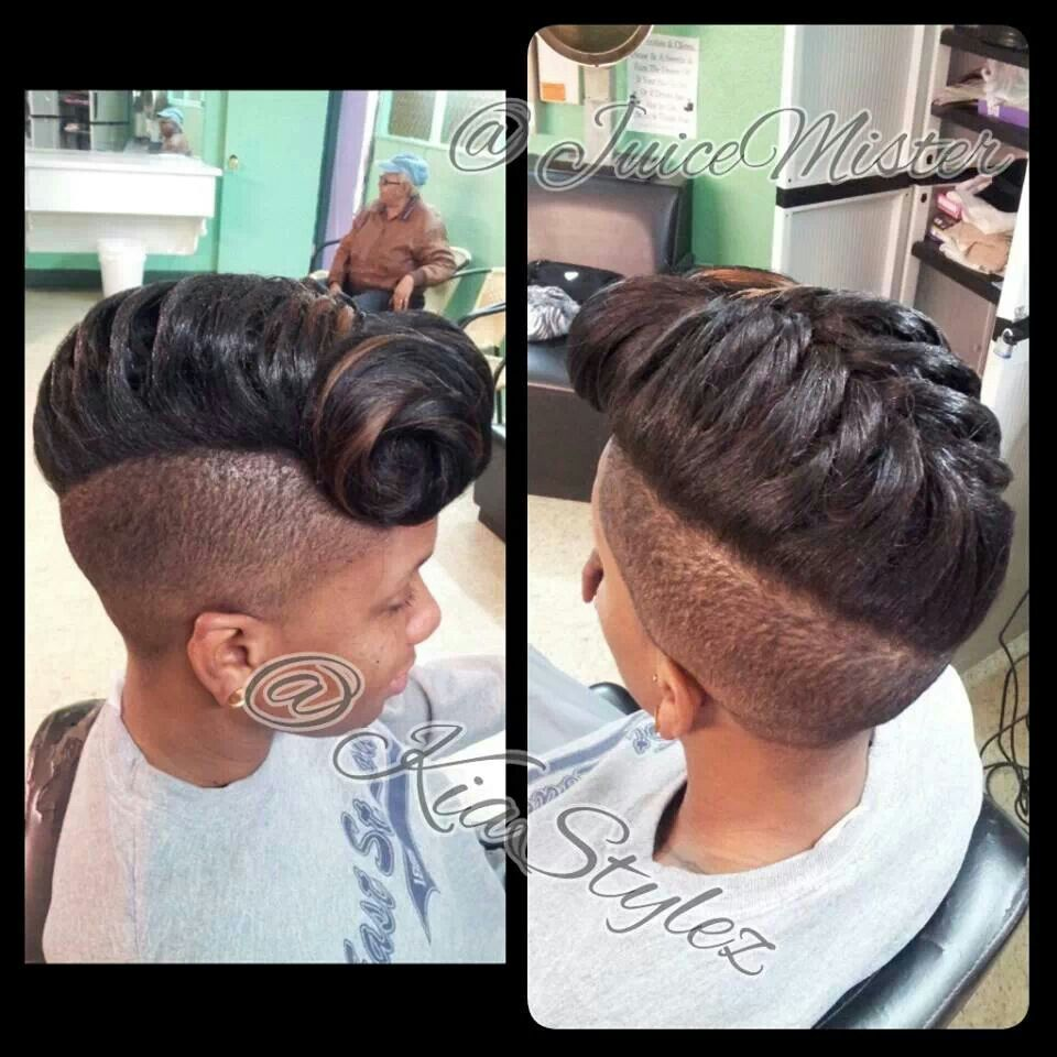 Shaved sides cute hair pinterest shaved sides hair style and