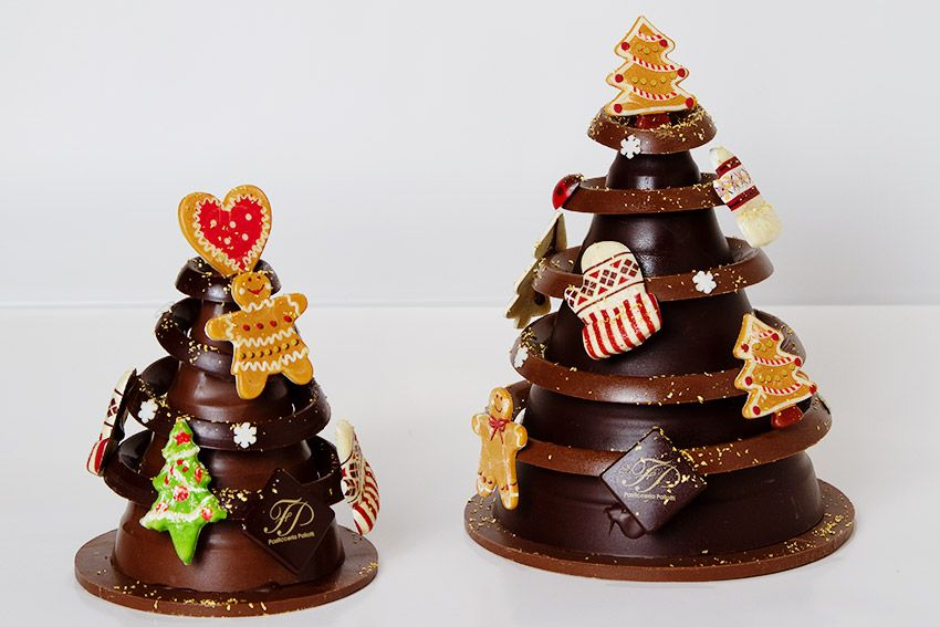 alberi di natale di cioccolato - Cerca con Google