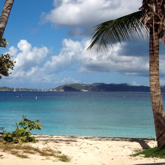 Our Honeymoon Caneel Bay Scott Beach St John Usvi