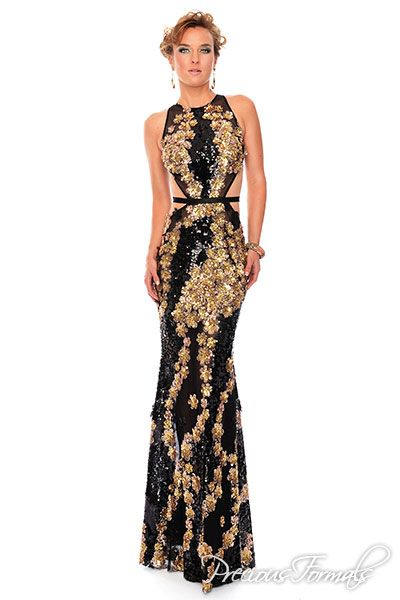 Semi Formal Dresses with Cutouts